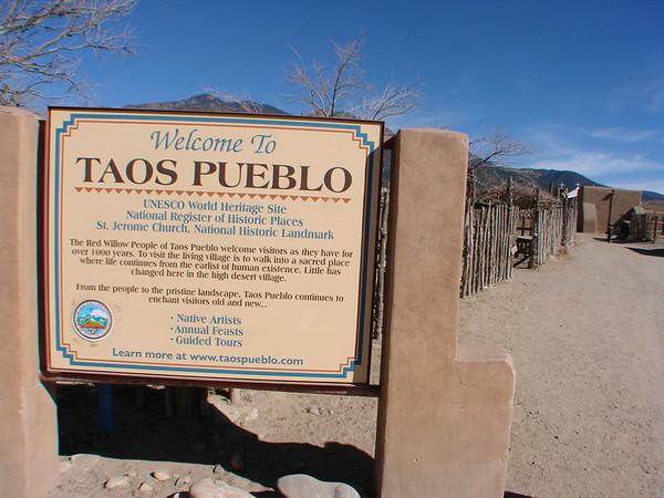 New Mexico Taos Pueblo 2012-11